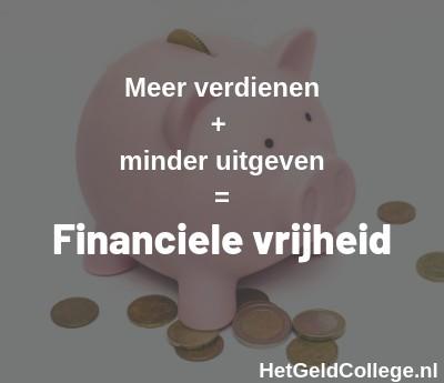 berekenen financiele onafhankelijkheid