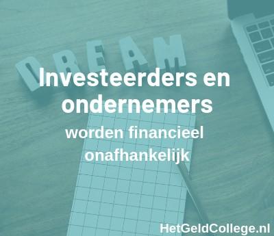 investeerders en ondernemers