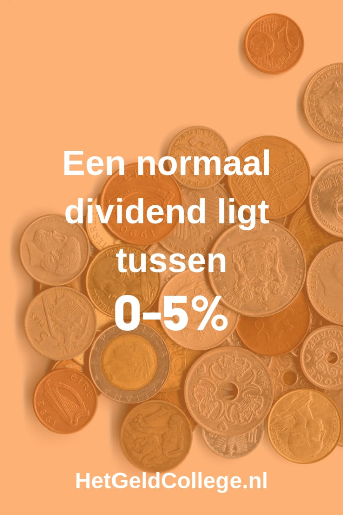 Dividend rendement