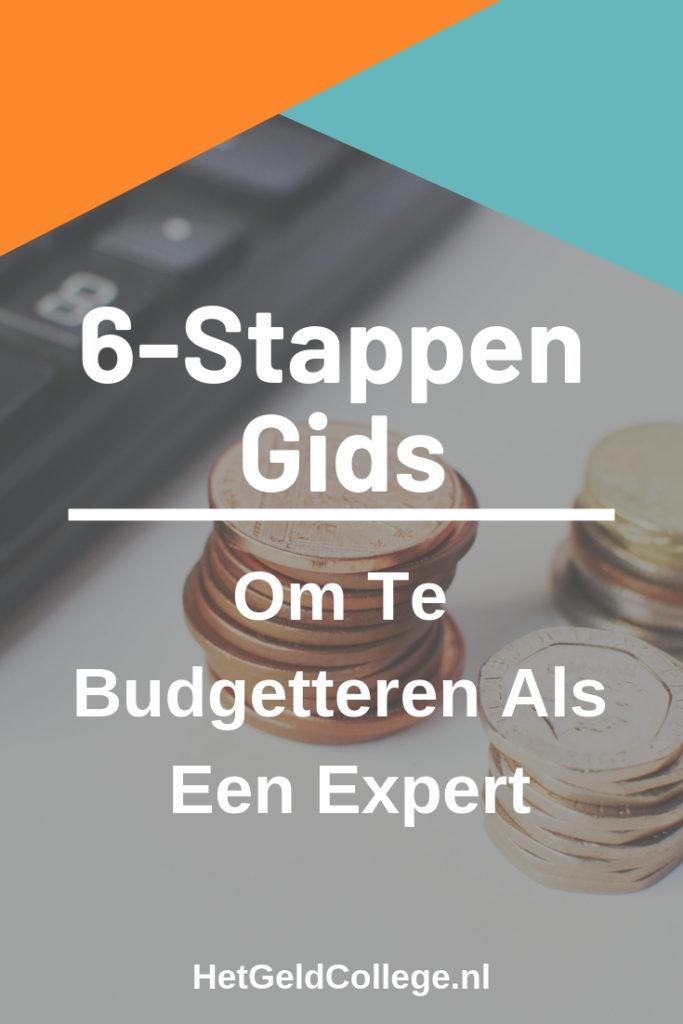 Budgetteren als een expert