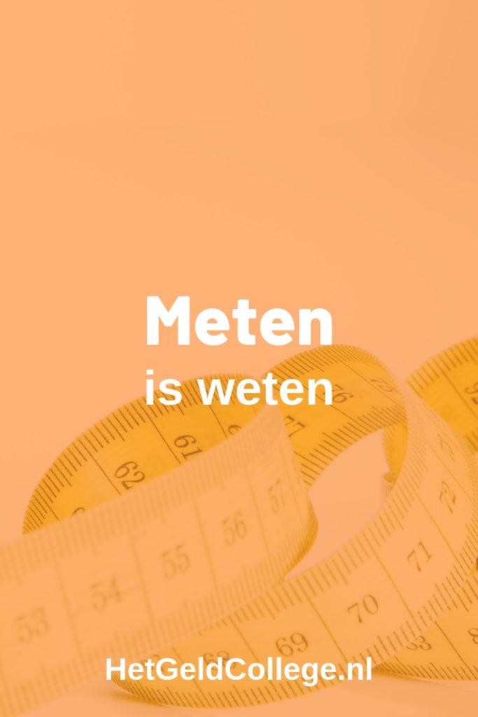 Meten is weten
