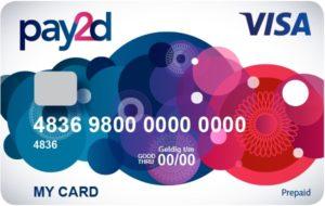 Prepaid creditcard primark