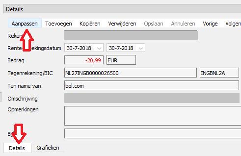 BankTrans Eenmalige Transactie 2