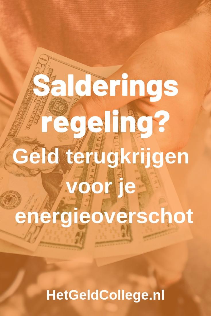 Salderingsregeling? Geld terugkrijgen voor je energieoverschot