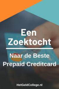 Beste prepaid creditcard 2019