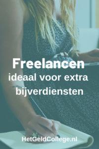 Freelancen is ideaal voor extra bijverdiensten
