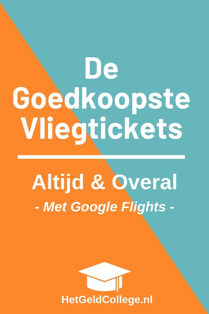 Google Flights De Beste Site Voor Vliegtickets