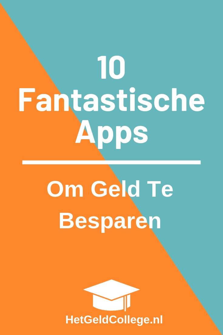 10 fantastische apps om geld te besparen