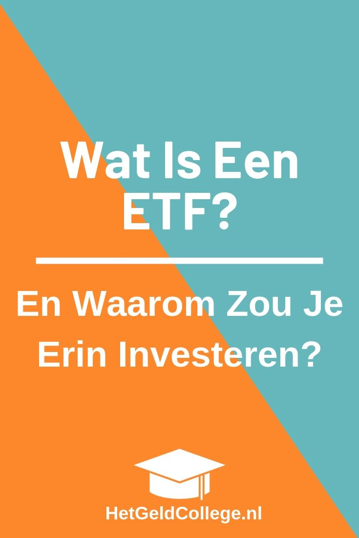 Wat is een etf