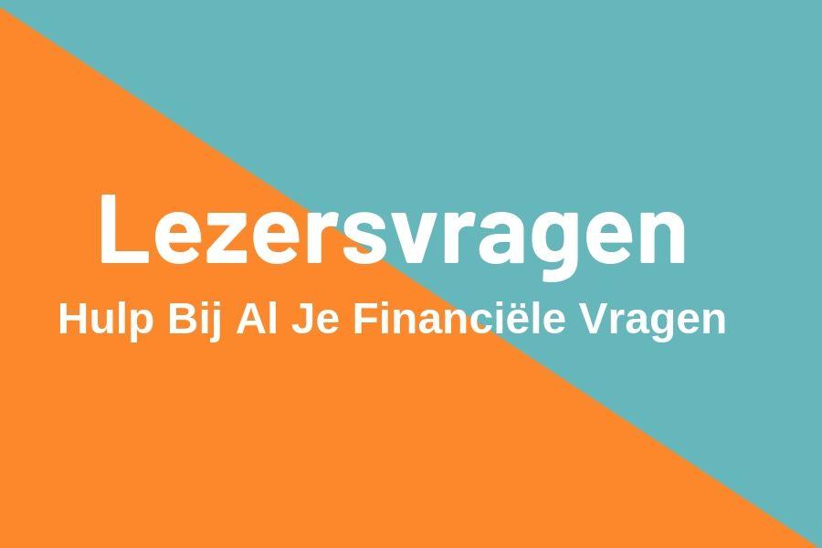 Lezersvragen HetGeldCollege.nl