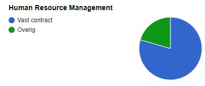 hoe snel krijgen human resource managers met 10 jaar ervaring een vast contract wo